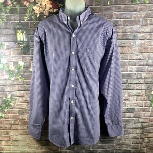 Izod Men's Shirt Long Sleeve Size XXL